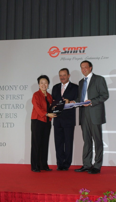 ... Group to Ms Saw Phaik Hwa, President and CEO, SMRT Corporation